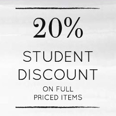 20% Student Discount