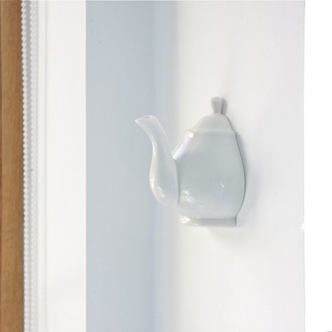 Porcelain Teapot Wall Hook