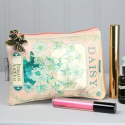 Disaster Designs 'In Bloom' Daisy Make Up Bag