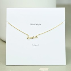 Estella Bartlett 'Shine Bright' Dream Necklace In Gold