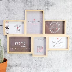 Wooden Multi Photo Frame