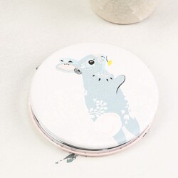 Disaster Design Nordikka Rabbit and Deer Compact Mirror