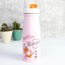 Disaster Designs Pink Retro Flask