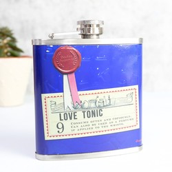 Apothecary Love Tonic Hip Flask