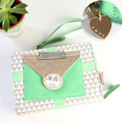 Disaster Designs 'Pompom Tutti' Triangle Mini Clutch Bag