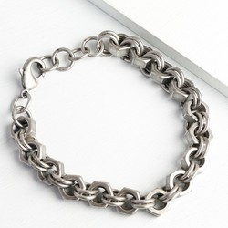 Men's Iron Nut Bracelet