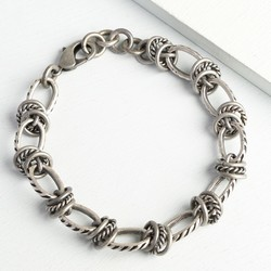 Men's Twisted Metal Bracelet