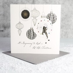 Five Dollar Shake 'Beginning to Look a Lot Like Christmas' Card