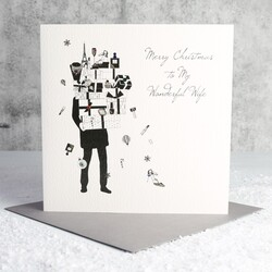 Five Dollar Shake 'Merry Christmas to My Wife' Card