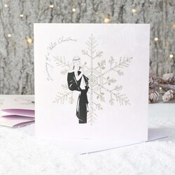 Five Dollar Shake Pack of 6 'White Christmas' Cards