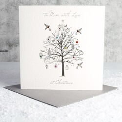 Five Dollar Shake 'To Mum With Love at Christmas' Tree Card