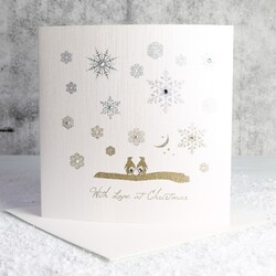 Five Dollar Shake 'With Love at Christmas' Penguin Card