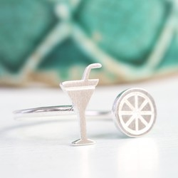 Cocktail and Slice Ring