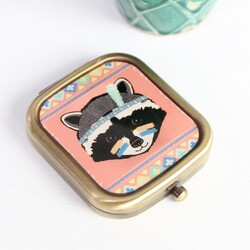 Badger Tribal Compact Mirror