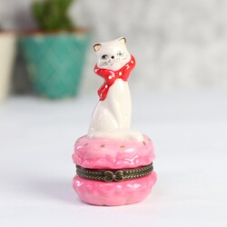 Temerity Jones Pink 'Pussy Galore' Trinket Pot