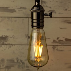 Medium Teardrop LED Light Bulb