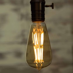 Large Teardrop LED Light Bulb