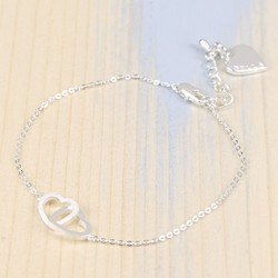 Personalised Forever Bracelet in Silver