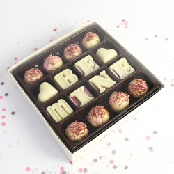 Choconchoc 'Be Mine' Chocolate Truffles