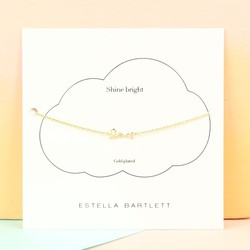 Personalised Estella Bartlett Gold 'Love' Bracelet