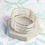Stacked Bar Stretch Bangle