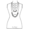 Necklace chain length guide