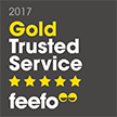 Feefo Gold Trusted Merchant 2016