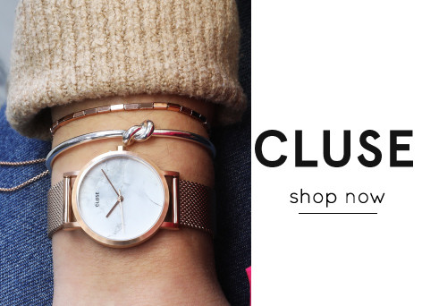 Rose gold and marble watch - shop cluse watches >>