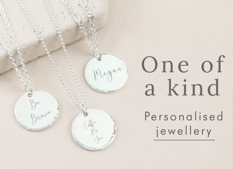 One of a kind - Personalised jewellery >>