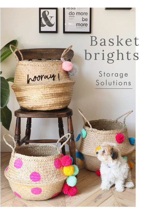 House of Disaster Seagrass Baskets - Shop storage solutions >>
