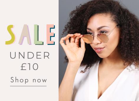 Sale under £10 - Shop now >>