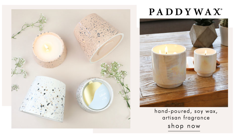 Paddywax soy candles - shop paddywax candles >>