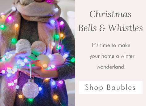Christmas baubles - Shop baubles and decorations >>