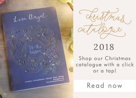 Lisa Angel Christmas gift guide - Shop and read Christmas catalogue >>
