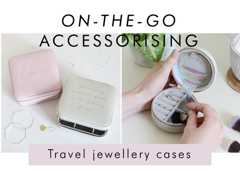 Travel jewellery cases - Shop jewellery storage >>