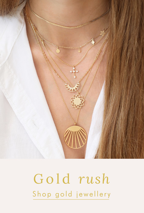 Gold jewellery - Shop gold jewellery >>