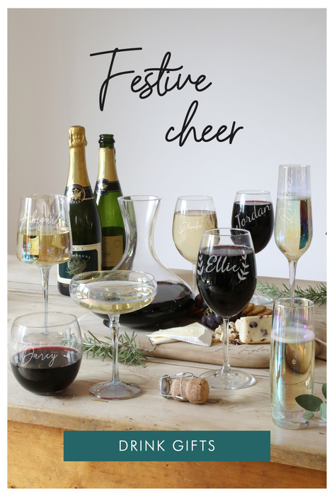 Alcohol and glassware gifts - Shop gifts for drink lovers >>