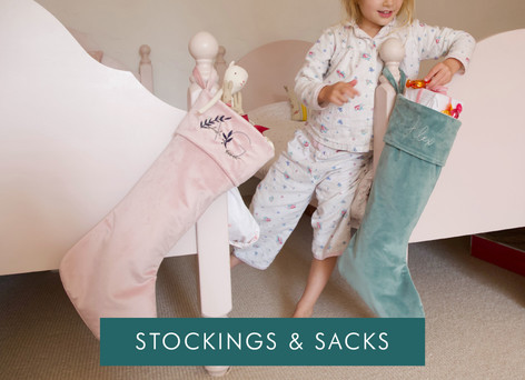 Stockings, sacks and Christmas eve boxes - Shop Christmas eve accessories >>