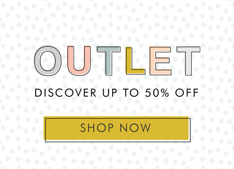 up to 50% off outlet - Shop outlet products >>