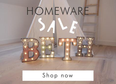 Sale home accessories  - Shop sale homeware >>
