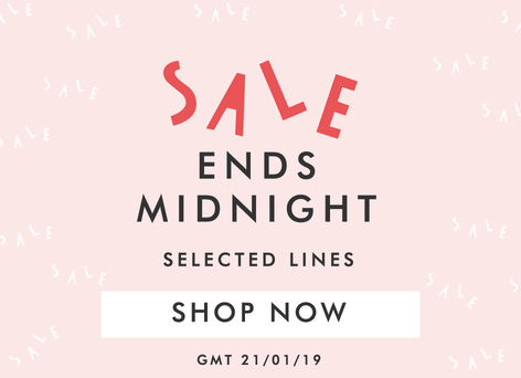 Winter sale ends midnight - Shop now >>