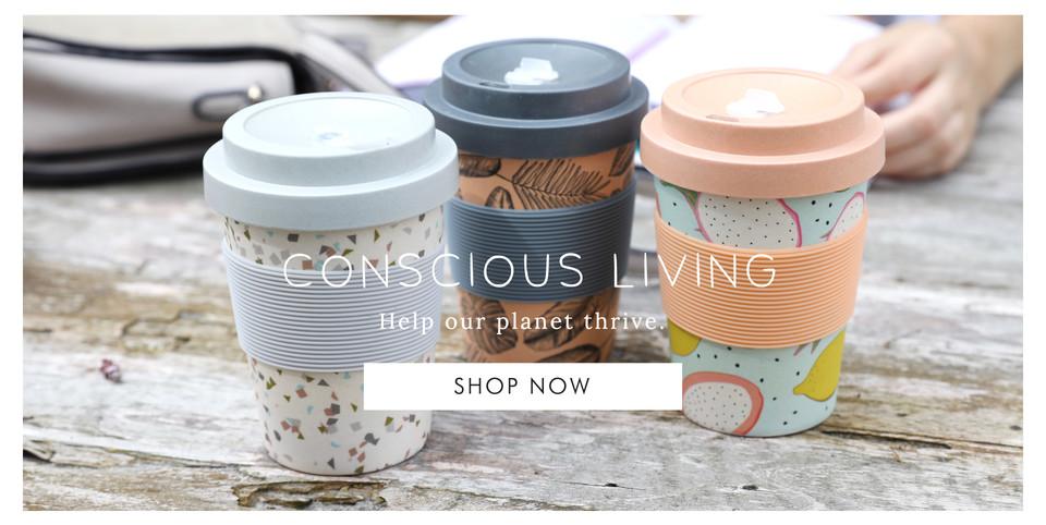 Conscious living homware - Shop eco and ethically sourced >>