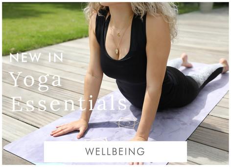 New in yoga essentials - Shop wellbeing accessories >>