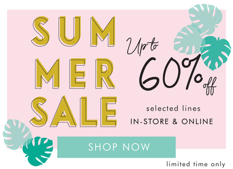 Lisa Angel Summer Sale - Shop discount jewellery, homeware and gifts >>