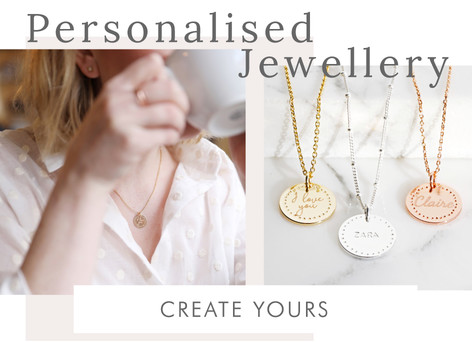 Personalised necklaces - Shop personalised jewellery >>