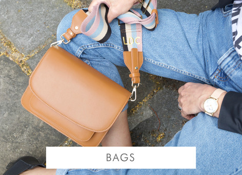 Real leather and vegan leather bags - Shop bags and accessories >>