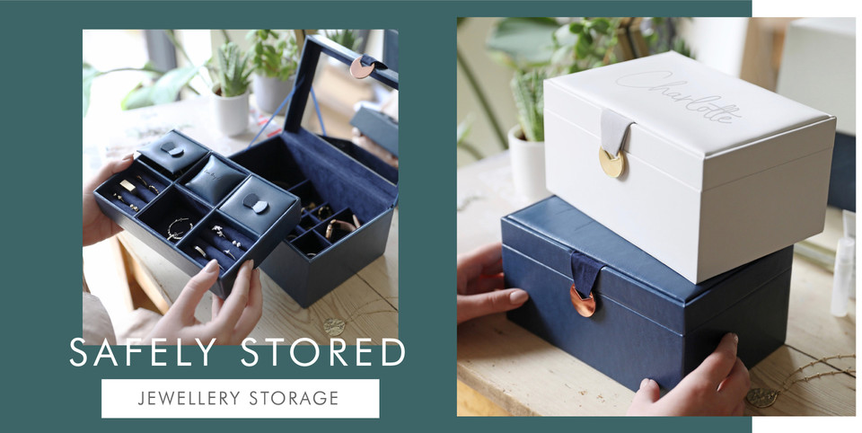 Jewellery storage - Shop jewellery and accessory boxes >>