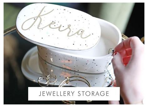 Personalised jewellery box - Shop jewellery storage >>