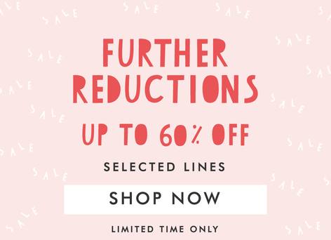 Winter sale further reductions - Shop up to 60% off sale >>