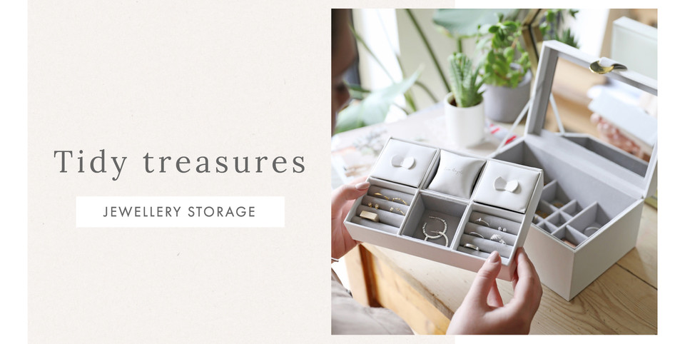 Jewellery storage - Shop jewellery organisation >>